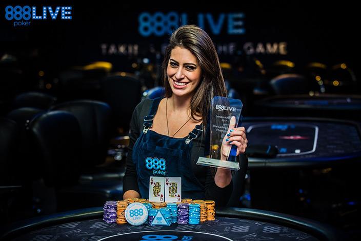 Вивиан Салиба победила в 888poker Live London Festival The Ladies Championship 2017.